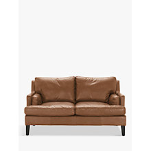 Buy Halo Canson Medium 2 Seater Leather Sofa Online at johnlewis.com