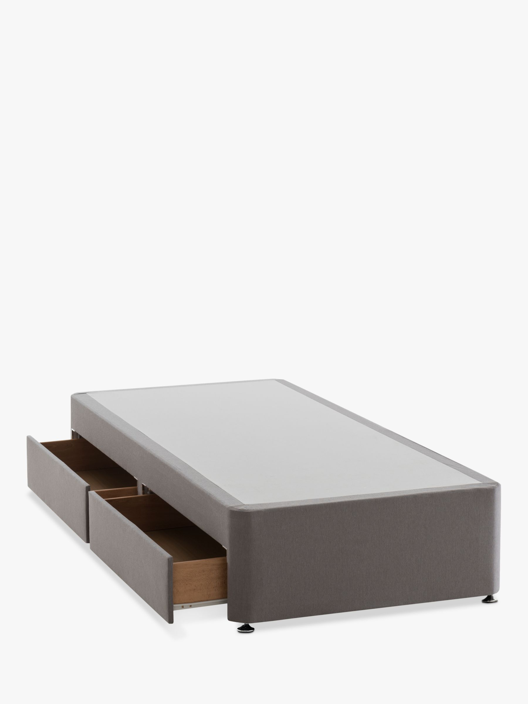 Silentnight Silentnight Non Sprung 2 Drawer Divan Storage Bed, Single
