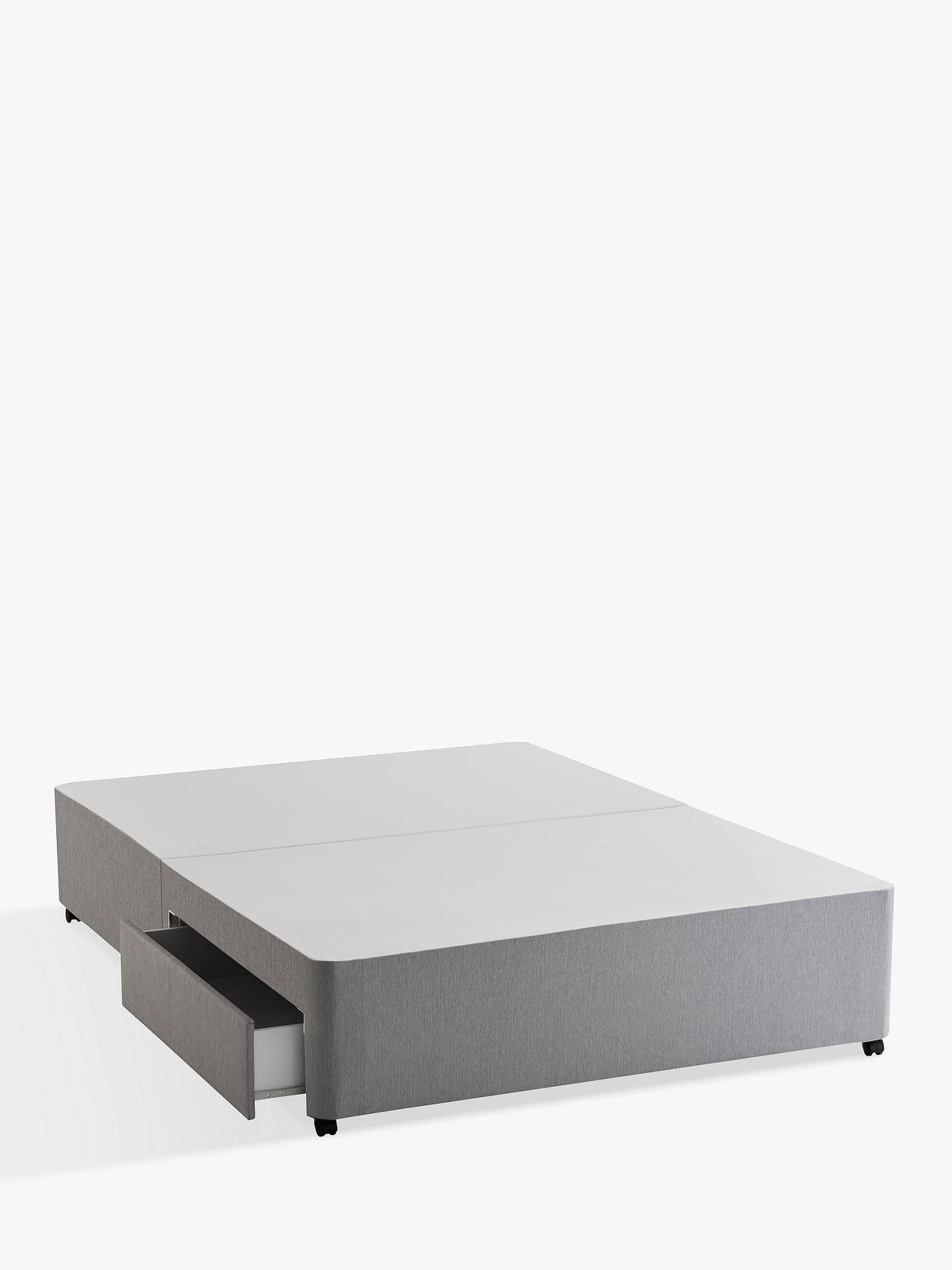 BuySilentnight Sprung Edge 2 Drawer Divan Storage Bed, King Size Online at johnlewis.com