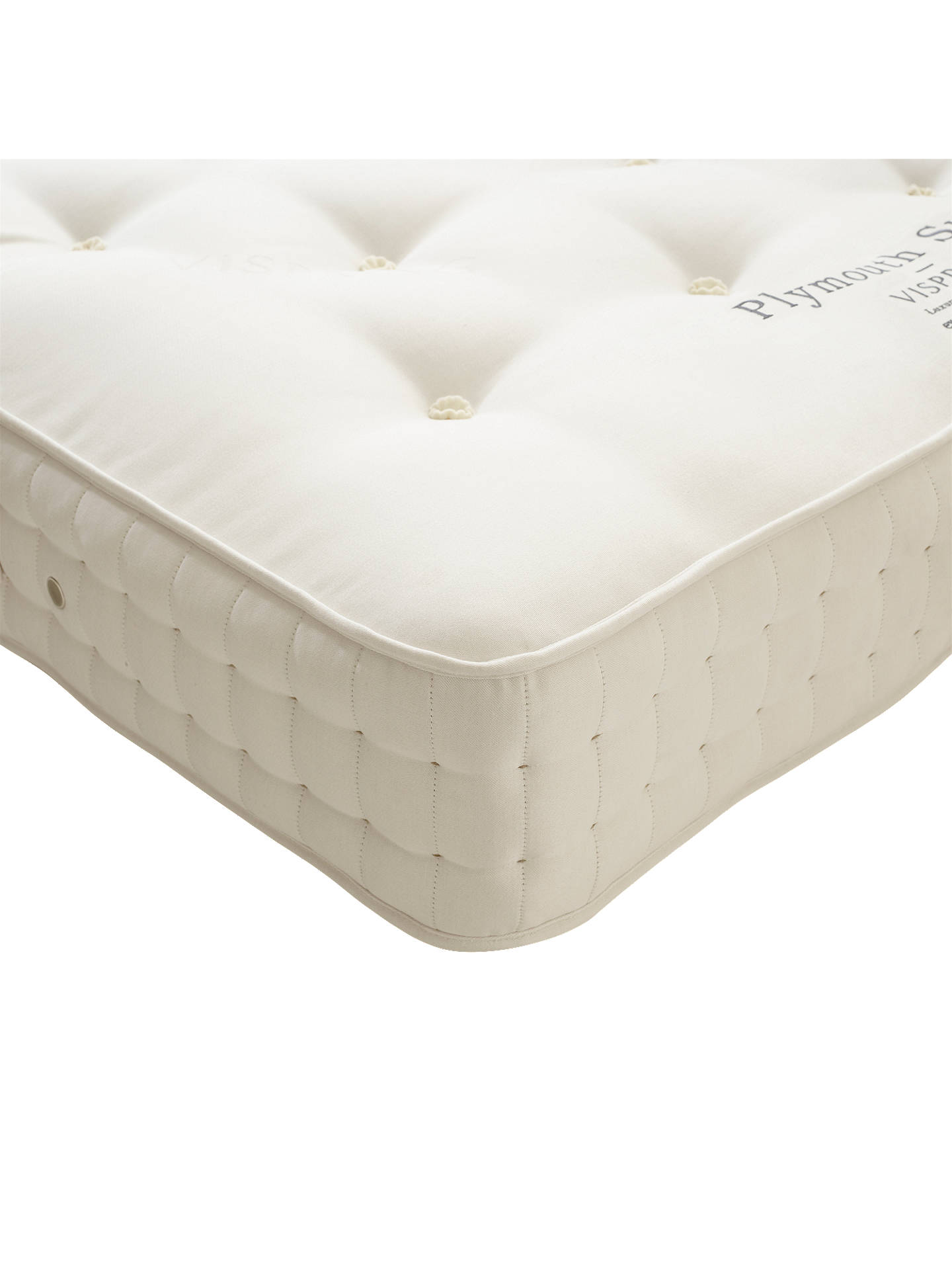 BuyVispring Plymouth Superb Mattress, Medium, Double Online at johnlewis.com