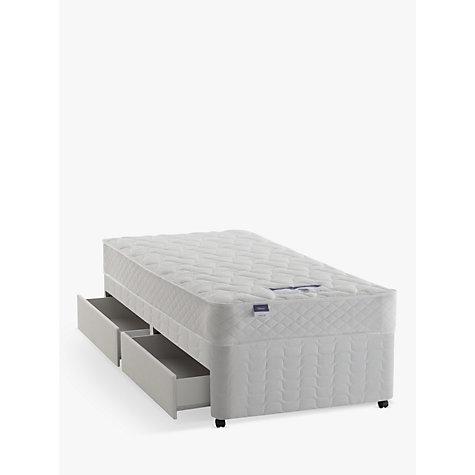 buy silentnight sleep soundly miracoil comfort divan base. Black Bedroom Furniture Sets. Home Design Ideas