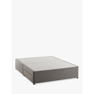 Silentnight Non Sprung 2 Drawer Divan Storage Bed, Double