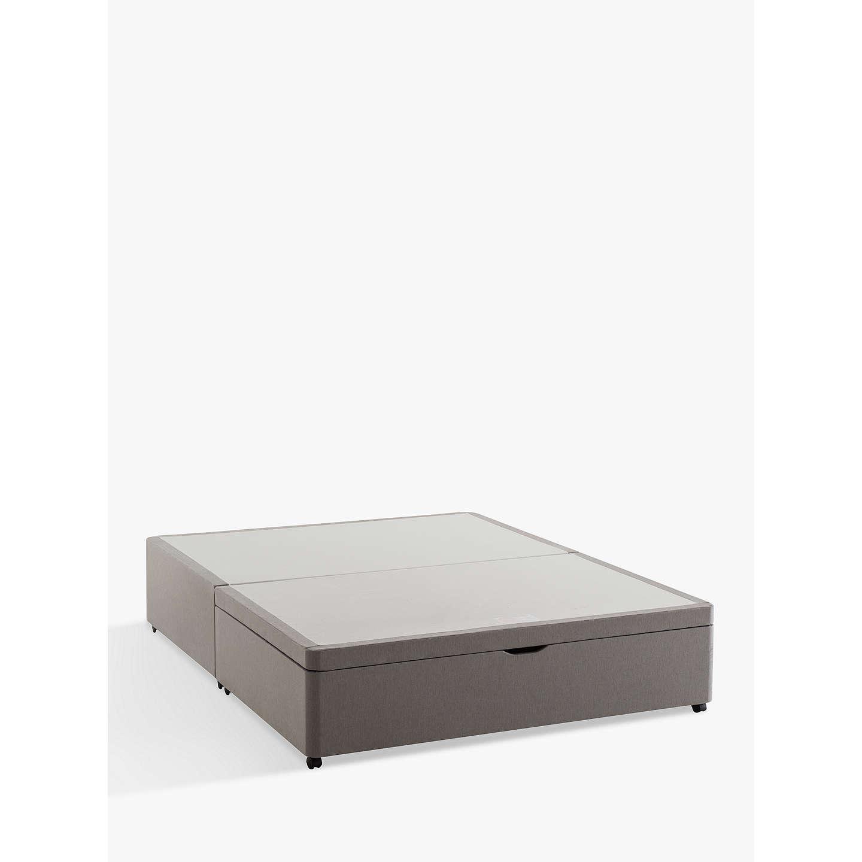 Silentnight end divan ottoman storage bed king size at for King divan with storage