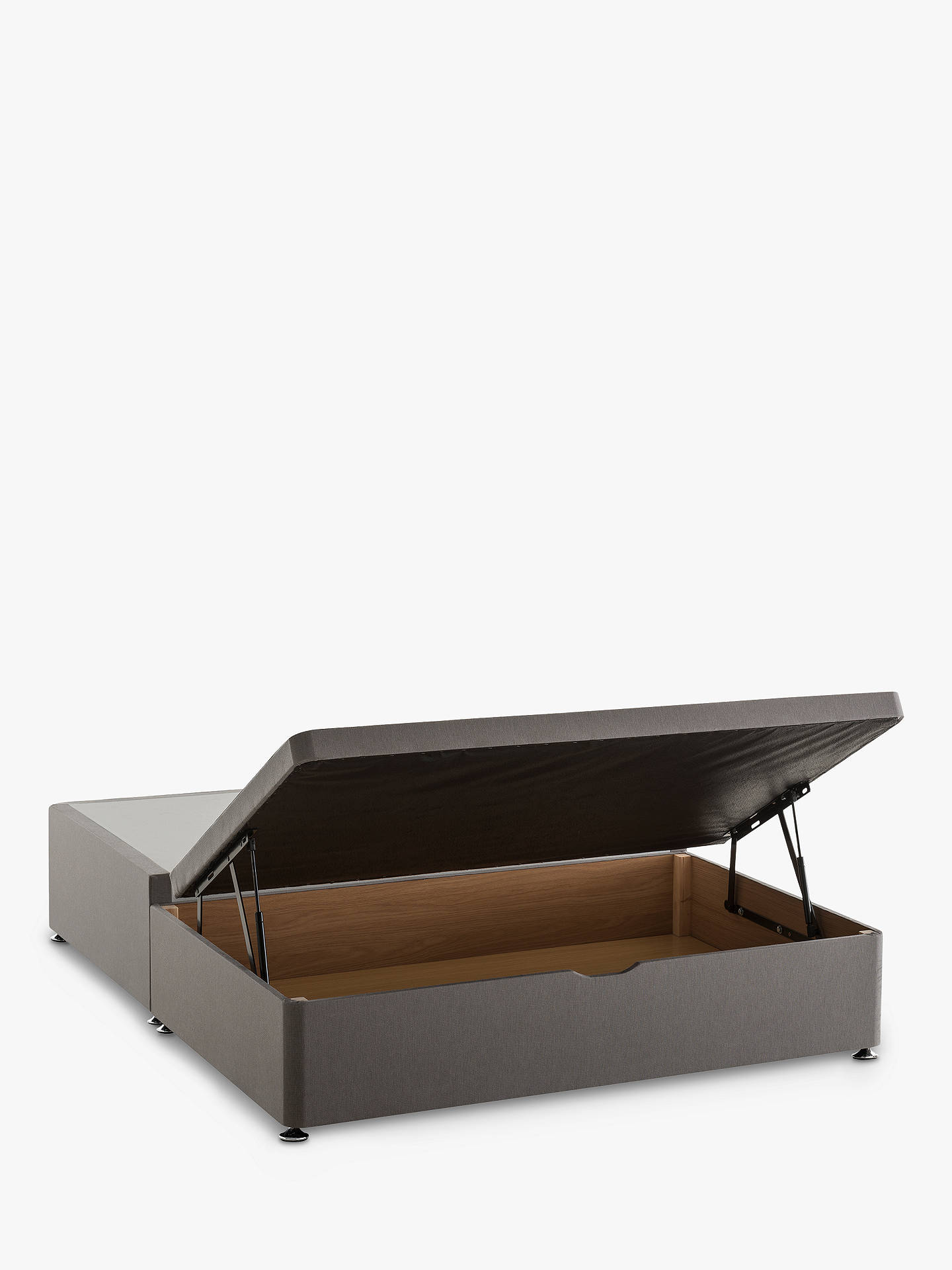 99aeb2ee7440 Buy Silentnight End Divan Ottoman Storage Bed, Double Online at  johnlewis.com ...