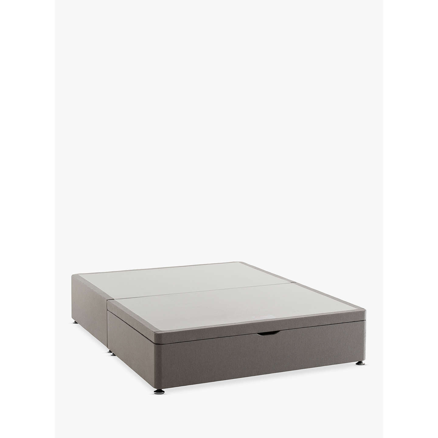 Silentnight End Divan Ottoman Storage Bed King Size At