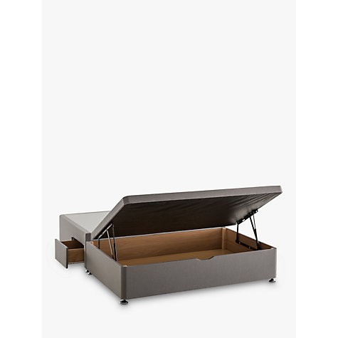 Buy Silentnight 2 Drawer Continental End Divan Storage Bed Double John Lewis