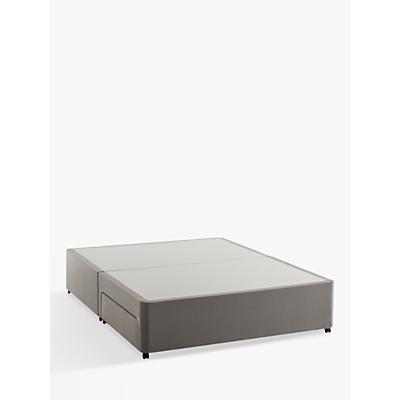 Silentnight Non Sprung 2 Drawer Divan Storage Bed, King Size