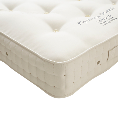Vispring Plymouth Superb Mattress, Medium, Extra Long Single