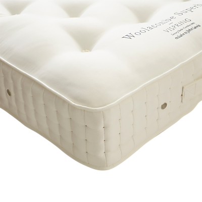 Vispring Woolacombe Superb Mattress, Medium, Single