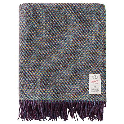 Avoca Cobble Wool Throw