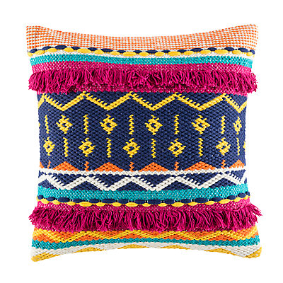 Image of Kas Sandro Woven Cotton Cushion