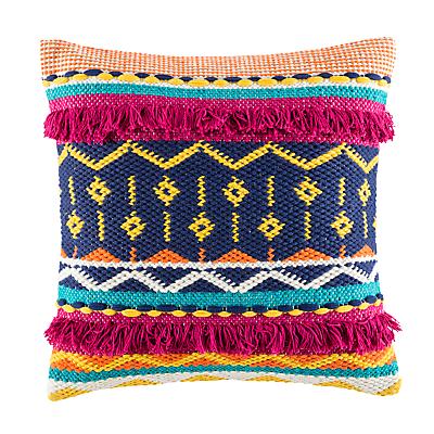 Kas Sandro Woven Cotton Cushion