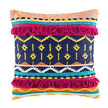 Buy Kas Sandro Woven Cotton Cushion Online at johnlewis.com