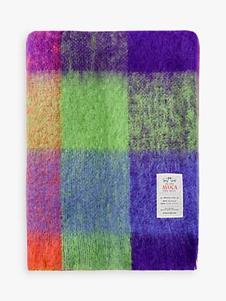Avoca Circus Mohair Throw