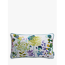Buy bluebellgray Botanical Print Cotton Cushion Online at johnlewis.com