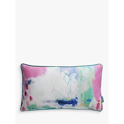 bluebellgray Medina Print Cotton Cushion