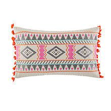 Buy Kas Myra Woven Cotton Cushion Online at johnlewis.com