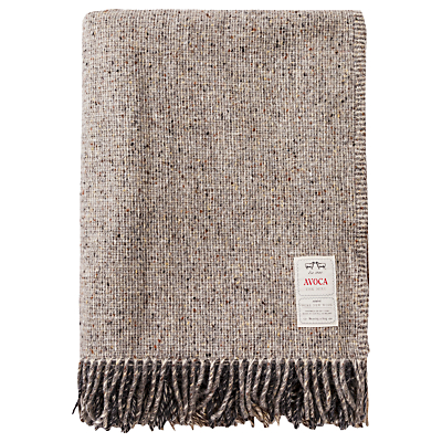 Avoca Artisan Block Wool Throw
