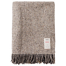 Buy Avoca Artisan Block Wool Throw Online at johnlewis.com