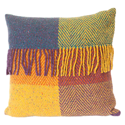 Avoca Heavy Herringbone Wool Cushion