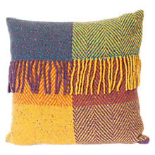 Buy Avoca Heavy Herringbone Wool Cushion Online at johnlewis.com