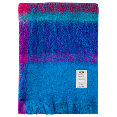 Avoca Brittas Mohair Blend Throw