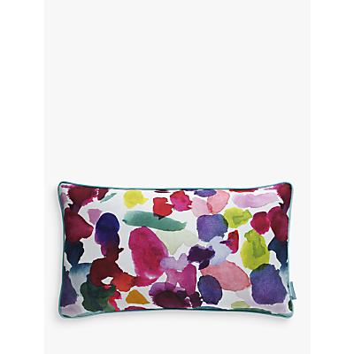 bluebellgray Abstract Print Cotton Cushion