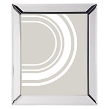 "Buy John Lewis Simple Bevel Photo Frame, 8 x 10"" (20 x 25cm), Clear Online at johnlewis.com"