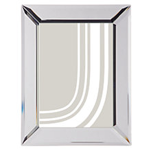 "Buy John Lewis Simple Bevel Photo Frame, 5 x 7"" (13 x 18cm), Clear Online at johnlewis.com"