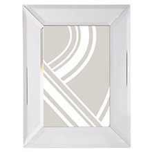 "Buy John Lewis Simple Bevel Photo Frame, 4 x 6"" (10 x 15cm), Clear Online at johnlewis.com"