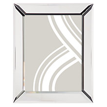 "Buy John Lewis Simple Bevel Photo Frame, 6 x 8"" (15 x 21cm), Clear Online at johnlewis.com"
