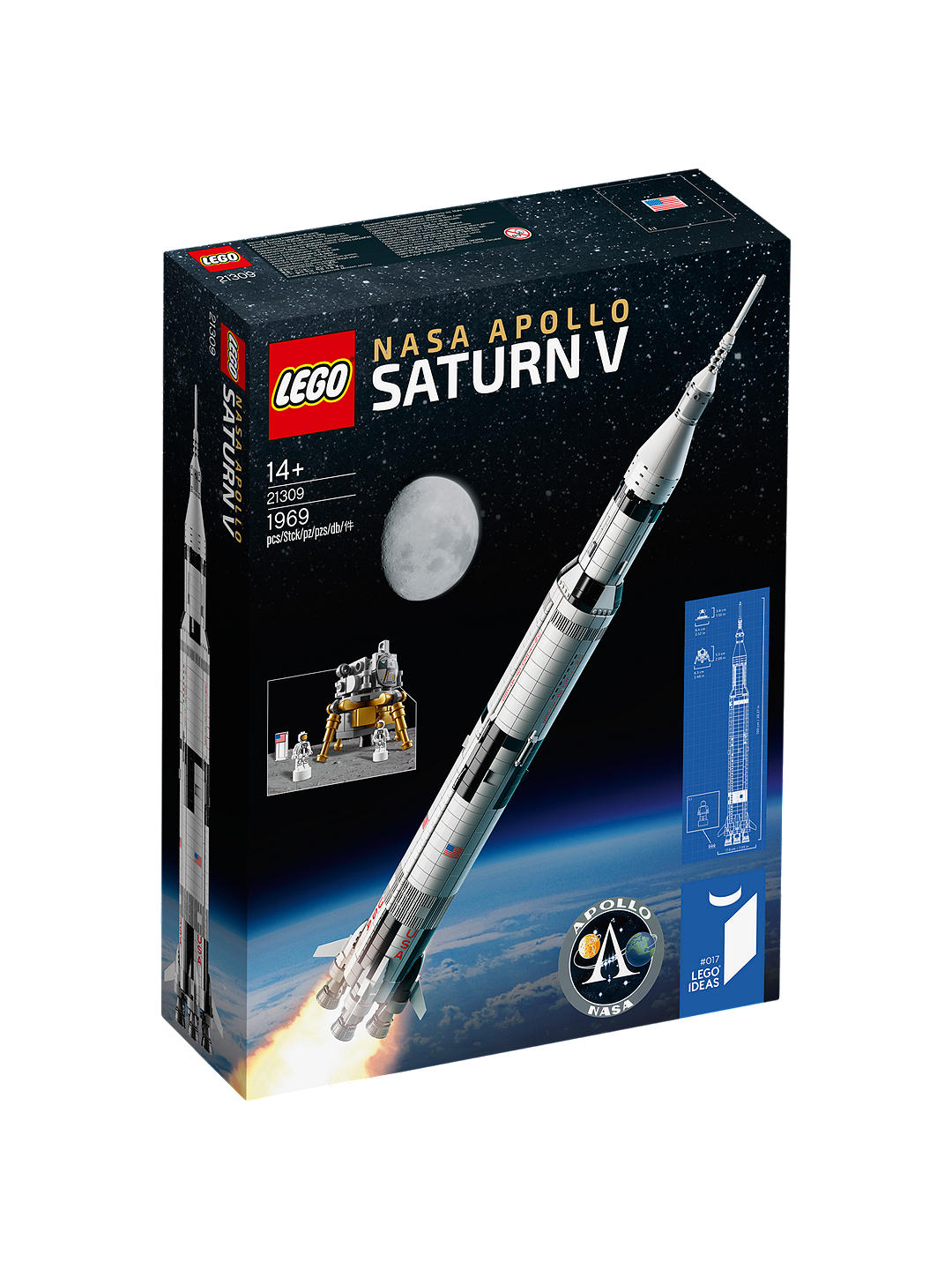 Lego Saturn 5 Rocket