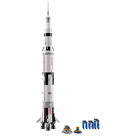 Buy LEGO Ideas 21309 NASA Apollo Saturn V Online at johnlewis.com