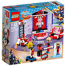 Buy LEGO DC Super Hero Girls 41236 Harley Quinn Dorm Online at johnlewis.com