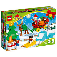Buy LEGO DUPLO 10837 Santa's Winter Holiday Online at johnlewis.com