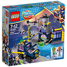Buy LEGO DC Super Hero Girl 41237 Batgirl Secret Bunker Online at johnlewis.com