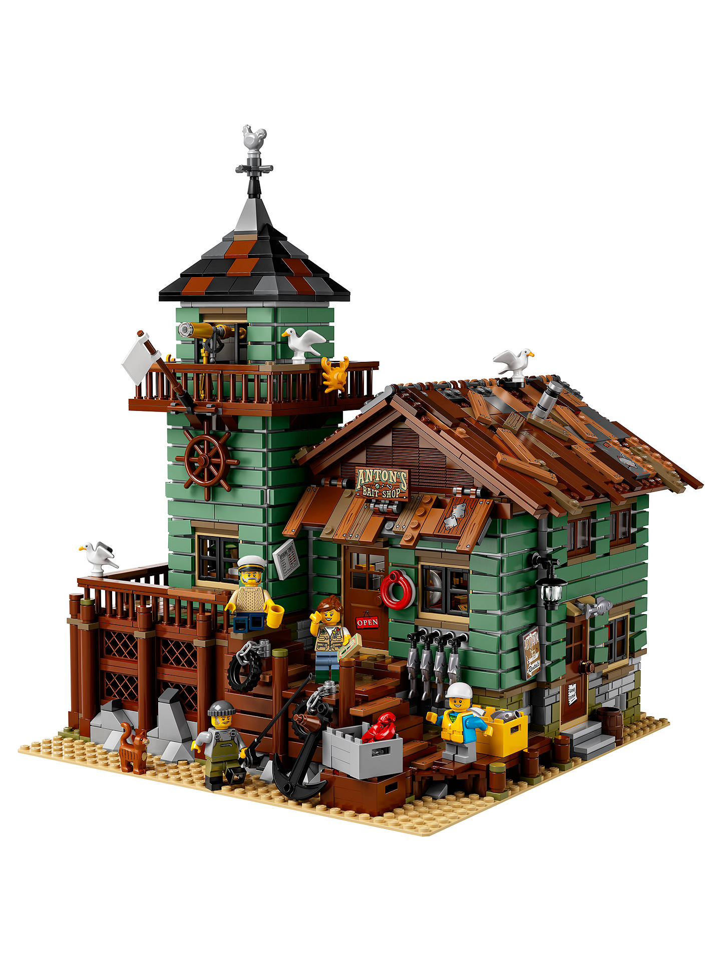 Buy LEGO Ideas 21310 Old Fishing Store Online at johnlewis.com