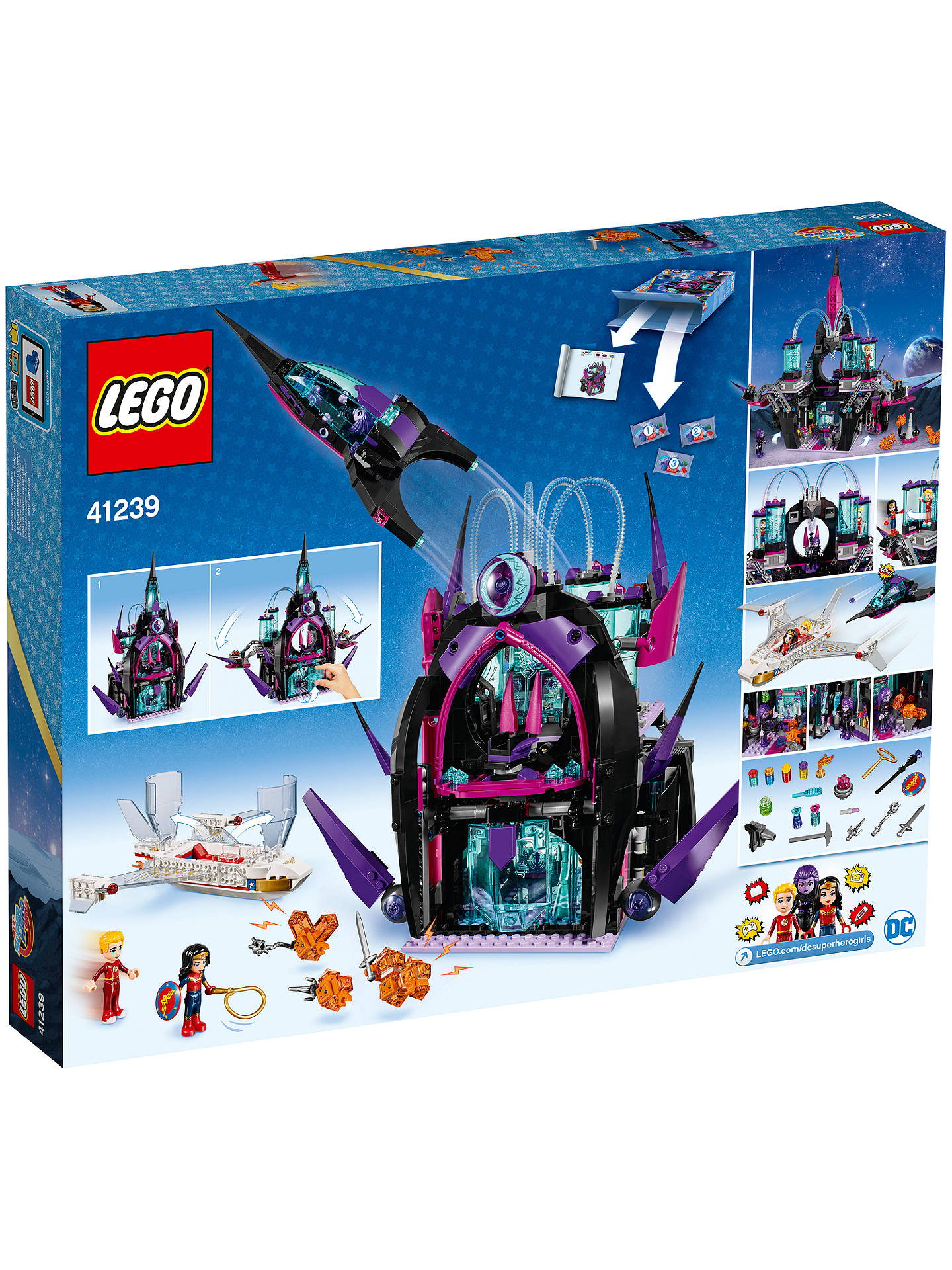 Eclipse Dark Palace LEGO Super Hero Girls 41239 Brand New