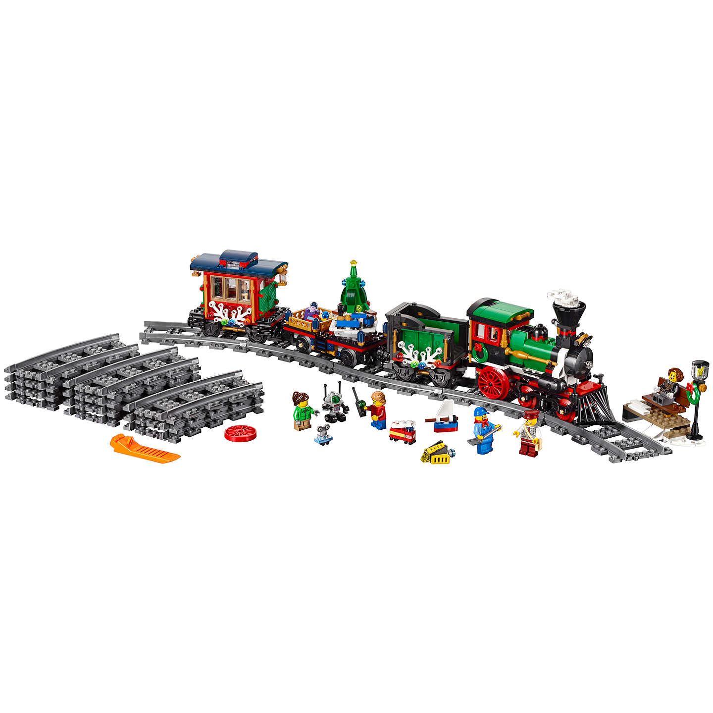 BuyLEGO Creator 10254 Winter Holiday Train Online at johnlewis.com