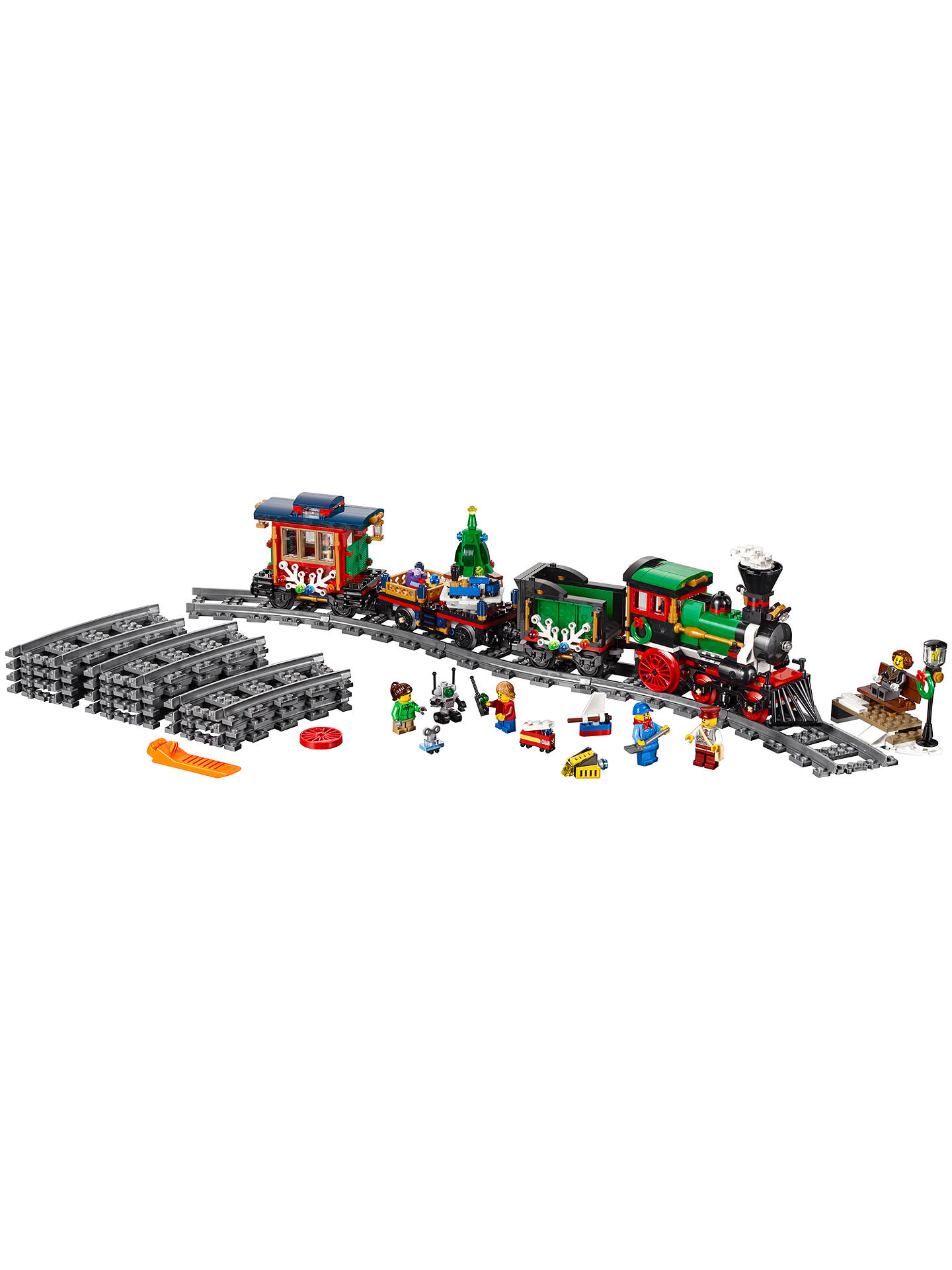 Buy LEGO Creator 10254 Winter Holiday Train Online at johnlewis.com