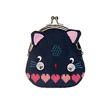 Buy John Lewis Children's Novelty Cat Purse, Multi Online at johnlewis.com