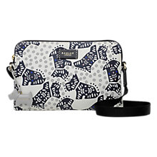 Buy Radley Folk Dog Fabric Small Across Body Bag, Ivory Online at johnlewis.com