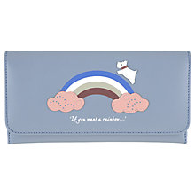 Buy Radley Rainbow Leather Large Matinee Purse Online at johnlewis.com