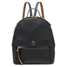 Buy Radley Postman's Park Leather Medium Backpack Online at johnlewis.com
