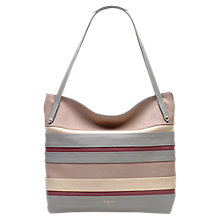 Buy Radley Pembroke Leather Large Tote Bag, Grey Online at johnlewis.com