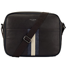 Buy Ted Baker Kestral Despatch Bag, Chocolate Online at johnlewis.com