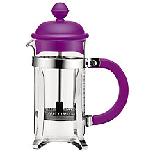 Buy Bodum Caffettiera Coffee Maker, 3 Cup, 350ml, Purple Online at johnlewis.com