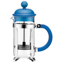 Buy Bodum Caffettiera Coffee Maker, 3 Cup, 350ml, Blue Online at johnlewis.com