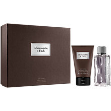 Buy Abercrombie & Fitch First Instinct 50ml Eau de Toilette Fragrance Gift Set Online at johnlewis.com