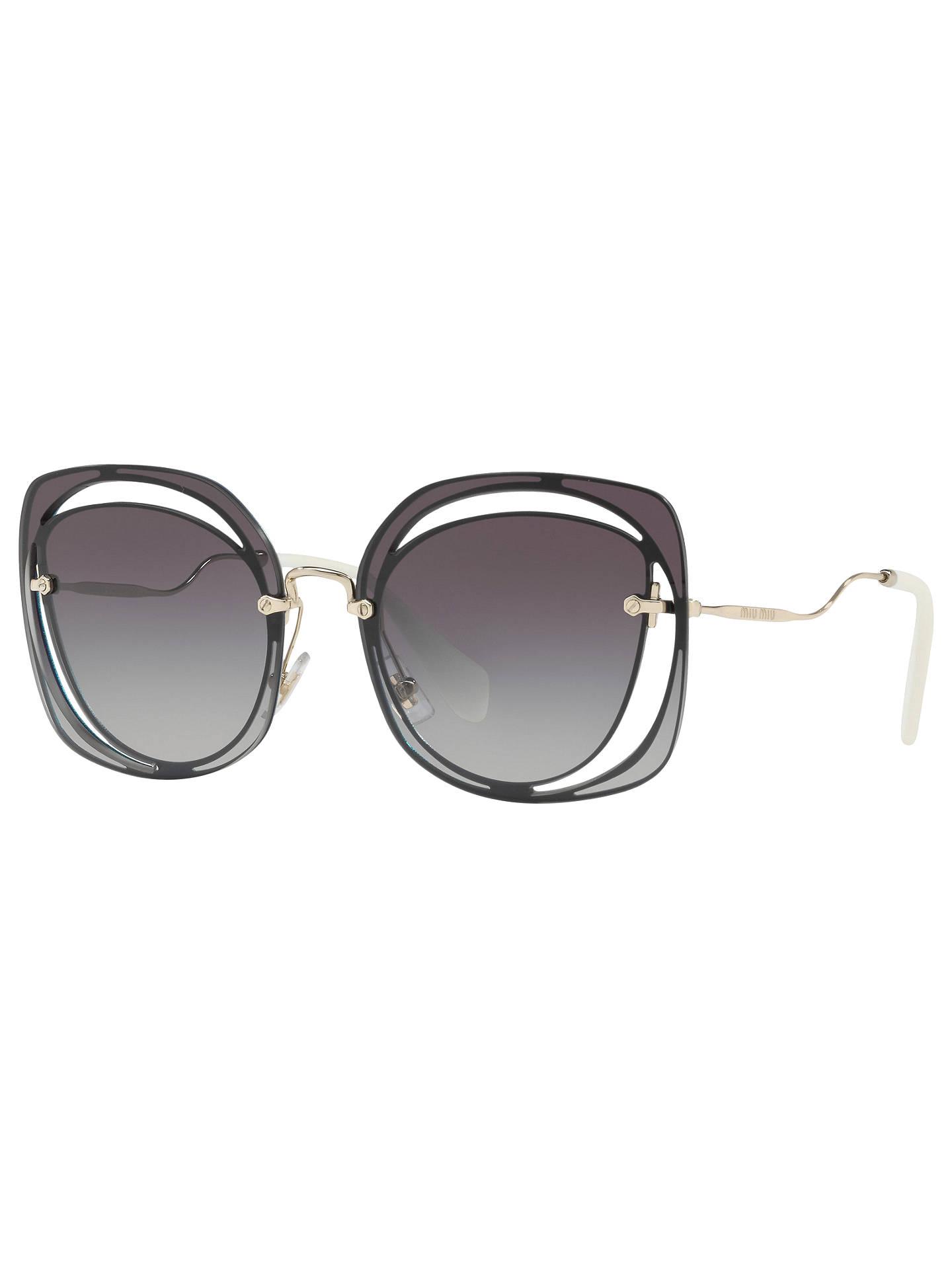 aeb0ca31a95 Buy Miu Miu MU 54SS Square Sunglasses